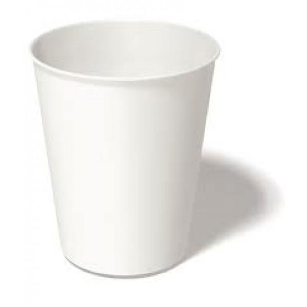 148040 Paper Cups 250ml White